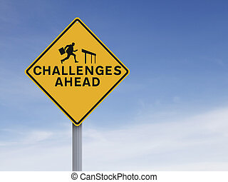 défis, devant