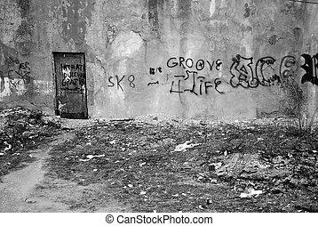 dégradation urbaine