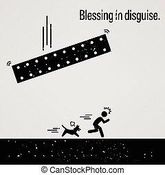 déguisement, bénédiction