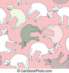 délassant, rigolote, chats