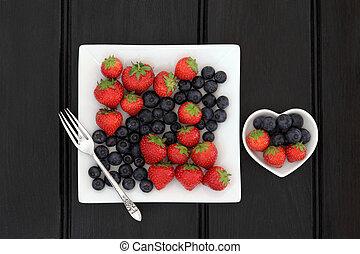 délicieux, aliment santé