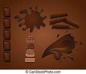 délicieux, chocolat
