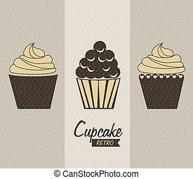 délicieux, petit gâteau