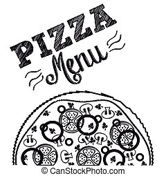 délicieux, pizza