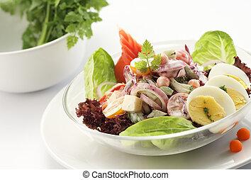 délicieux, salade