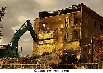 démolition, 15
