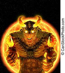 démon, solaire