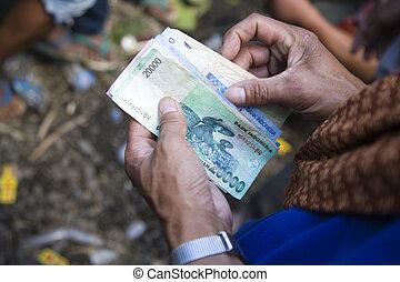 dénombrement, argent