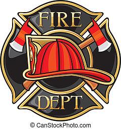 département, brûler