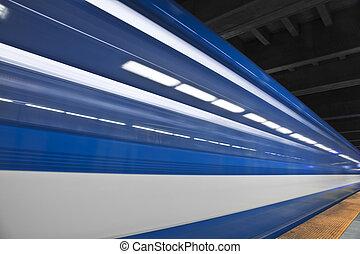 dépassement, jeûne, métro