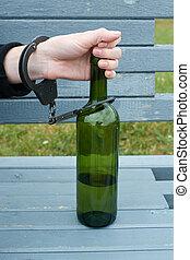 dépendance, alcoolique