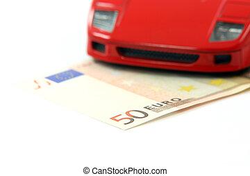dépenses voiture, argent