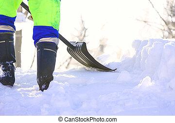 déplacement neige