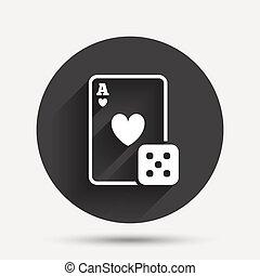 Roulette casino vecteur
