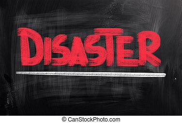 désastre, concept
