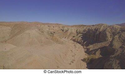 désert, collines