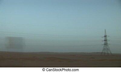 désert, conduite