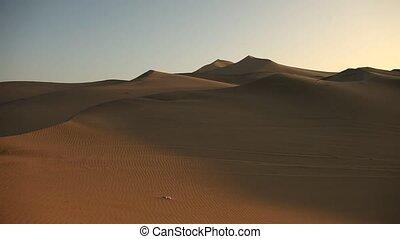 désert, ica, pérou