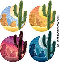 désert, mexicain