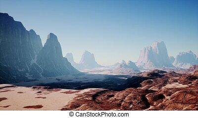 désert, rocher, nevada, formations