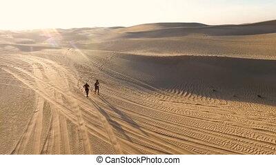 désert, séance entraînement