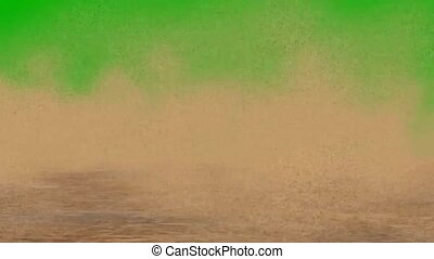 désert, tempête sable