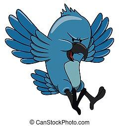 désordre, oiseau