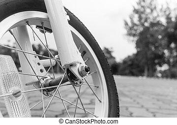 détail, de, vélo