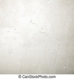 détaillé, grunge, hautement, fond, textured, blanc