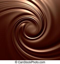 détaillé, series., render., arrière-plans, chocolat,...