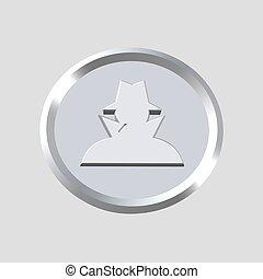 détective, icône