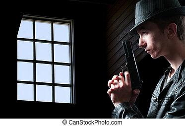 détective, police