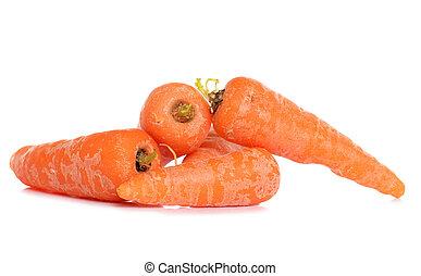 développé, maison, carottes