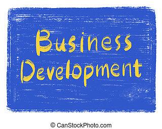 développement, business