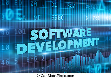développement, concept, logiciel