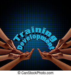 développement, formation, groupe