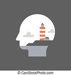 développement, mindfulness, concept, soi, potentiel,...