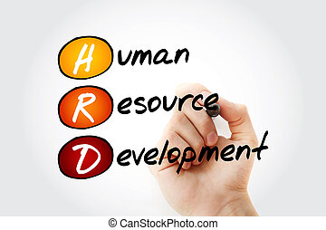 développement, ressource, acronyme, -, humain, hrd