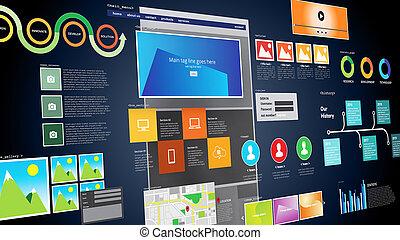 développement, site web, conception projet