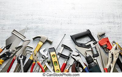 dê ferramentas