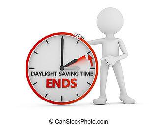 día, ahorro, tiempo