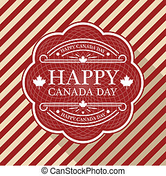 día de la independencia de canadá, cartel