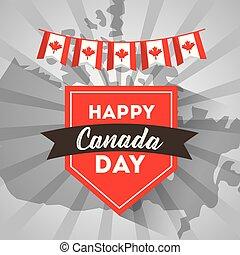 día de la independencia de canadá, feliz