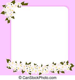 día de la madre, y, boda, tarjeta
