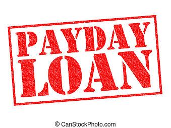 día de paga, préstamo