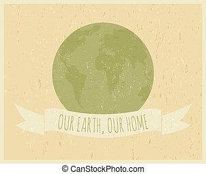 día de tierra, cartel