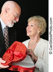 día de valentines, dulce, para, esposa