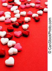 día de valentines, dulce, plano de fondo