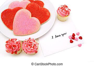 día de valentines, dulces