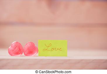 día de valentines, plano de fondo, con, corazones